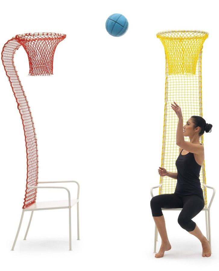 Lazy Basketball by Campeggi | #design Emanuele Magini #basket