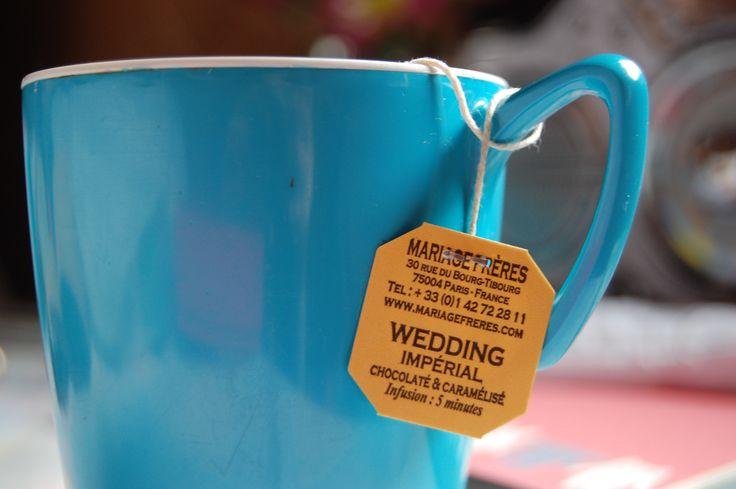 Tea Bag Business Card