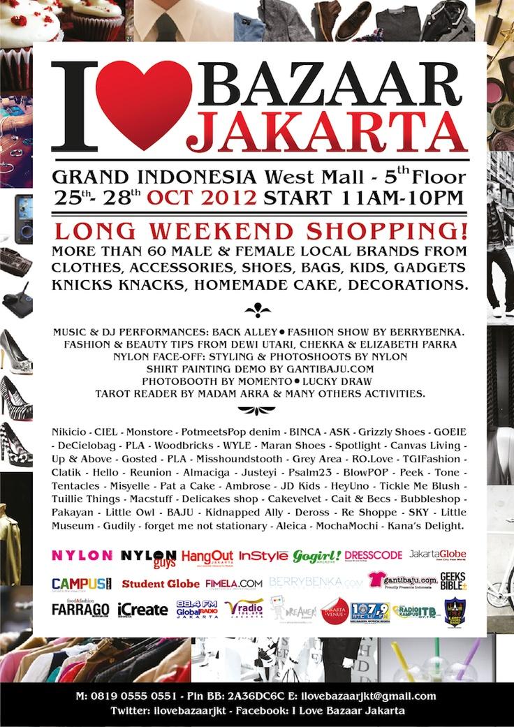 I Love Bazaar Jakarta 2012