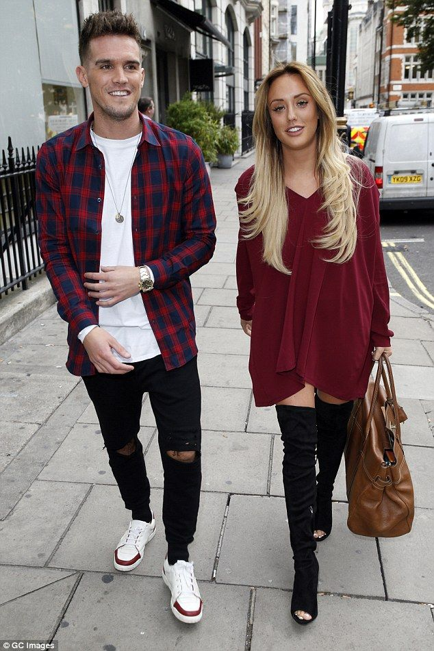 Lovebirds no more: After revealing the news of her ectopic pregnancy, Charlotte subsequently confirmed her departure from MTV's Geordie Shore following a bitter rift with ex Gaz Beadle (pictured)