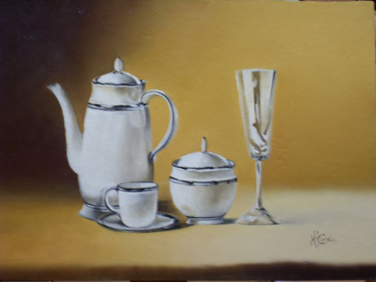 Still Life N 211, Oil Painting,                    32x21.5 cm, 2009