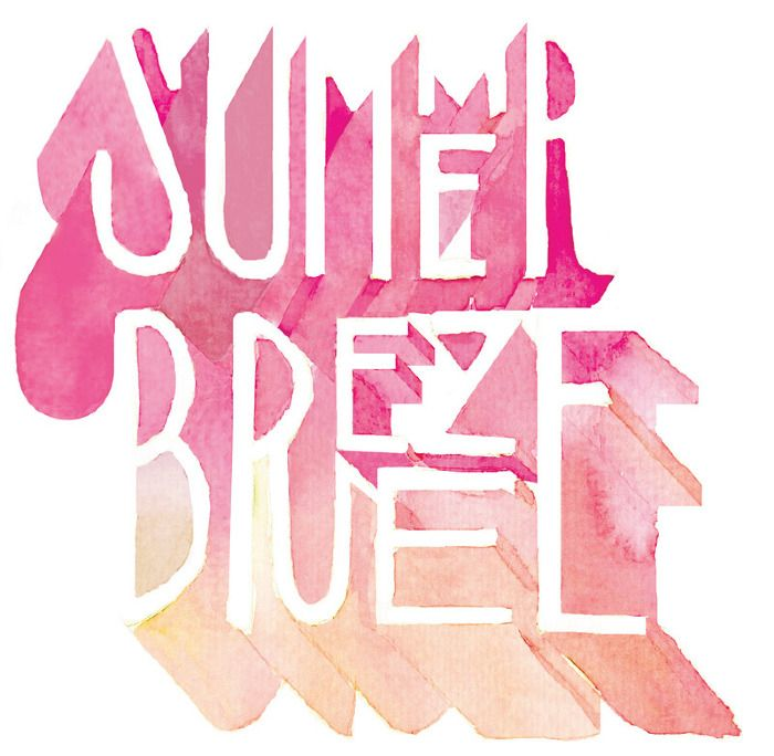 Summer Breeze - Hello Jon - Illustration & Hand Drawn Type                                                                                                                                                                                 More