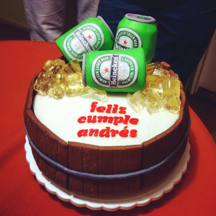 Beer cake! Salud