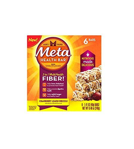 Meta Heath Bars, Multi-Health Fiber, Cranberry Lemon Drizzle, 2 Boxes 6 Ct. Each *** Want additional info? Click on the image.