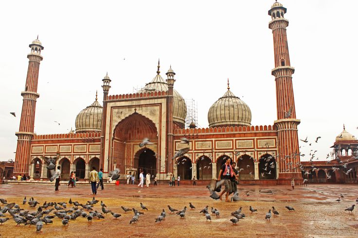 Jama Masjid, Delhi  The Masjid-i Jahān-Numā, commonly known as the Jama Masjid of Delhi, is the principal mosque of Old Delhi in India. Commissioned by the Mughal Emperor Shah Jahan, it is the best-known mosque in India. for more about India visit this blog: http://guidedtoursindia.blogspot.com/