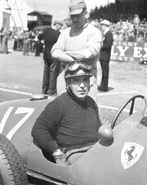Piero Taruffi, Ferrari 500, British Grand Prix 1952