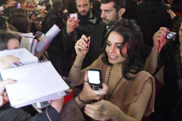 Vanessa Hudgens Photos Photos: Stars Promote 'Spring Breakers' in Rome