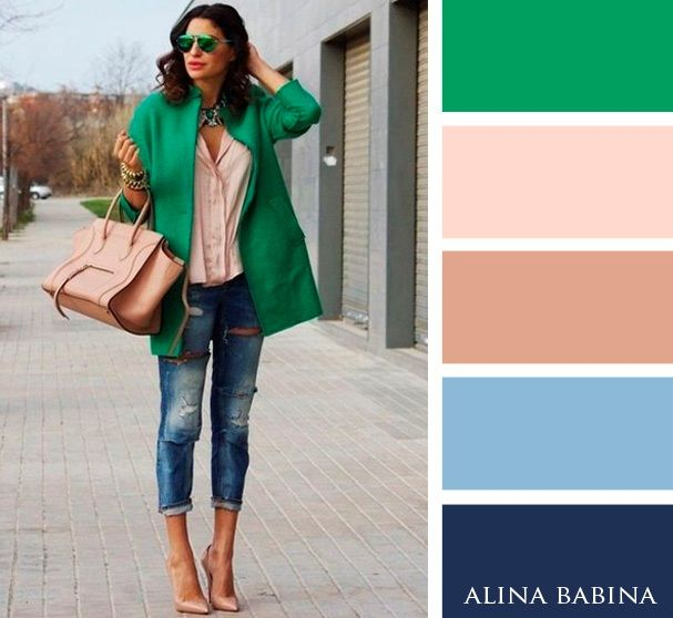 I would love to be able to pull this off! Alina Babina color palettes