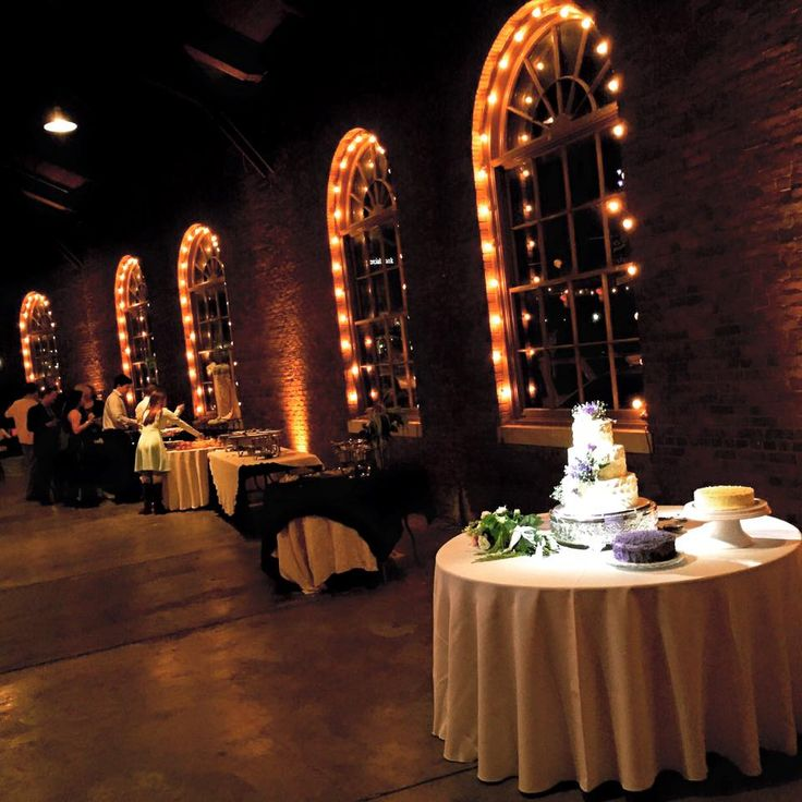 Wedding at the roundhouse huntsville lighting by steve for Wedding venues huntsville al