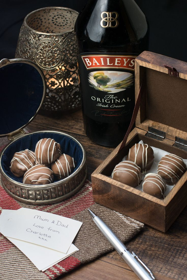 Treat someone you love with homemade Baileys truffles. There are two versions of this recipe, my original chocolate coated truffles and a quick and easy version. Both versions taste absolutely delicious and are the perfect gift for someone special.