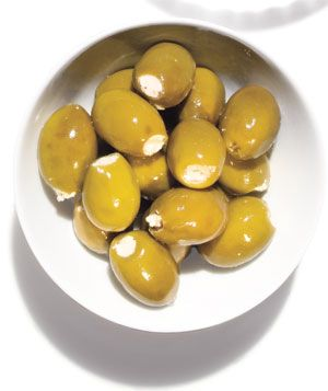 Best Store-Bought Appetizers: Divina Green Olives w/ Feta