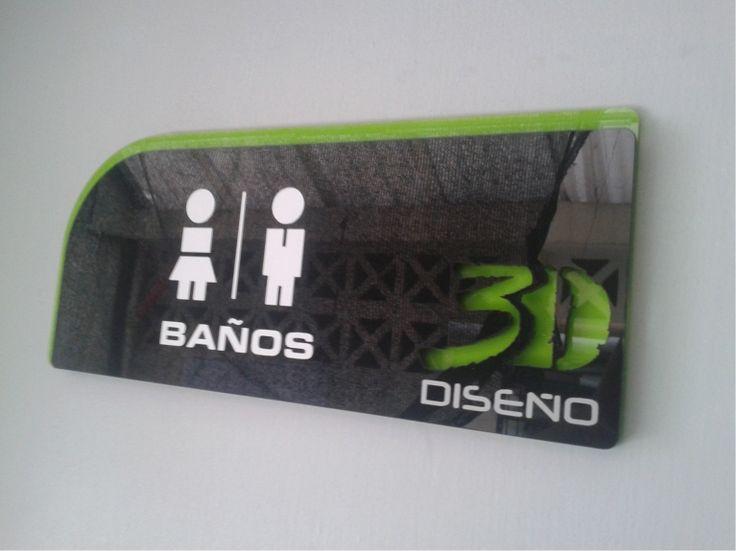 Señaletica 3D Diseño