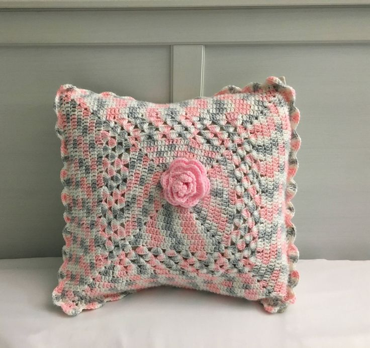 Excited to share the latest addition to my #etsy shop: Crochet pillow case, Crochet pillow sham, Decorative pillow case, kids room pillow case, Baby shower gift
