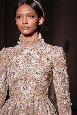 VALENTINO COUTURE SPRING SUMMER 2012 COLLECTION- PARIS FASHION WEEK