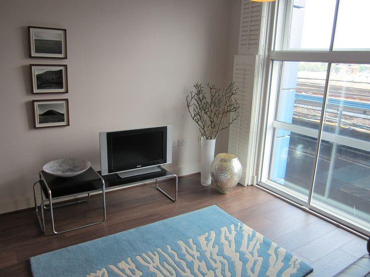 Rug in Battersea flat