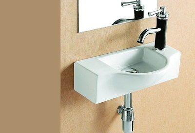 Kleines Waschbecken Gäste Wc Handwaschbecken Wandmontage Bad Handwecken