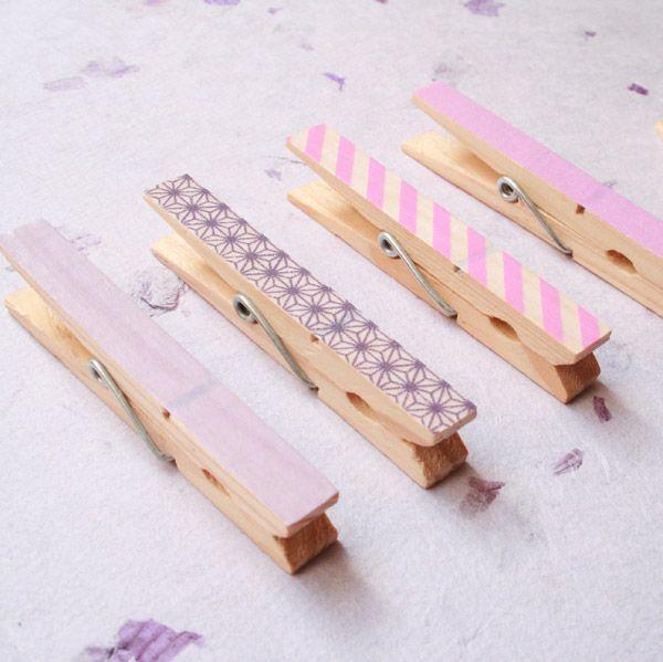 Masking tape+épingles=le combo gagnant  http://www.prima.fr