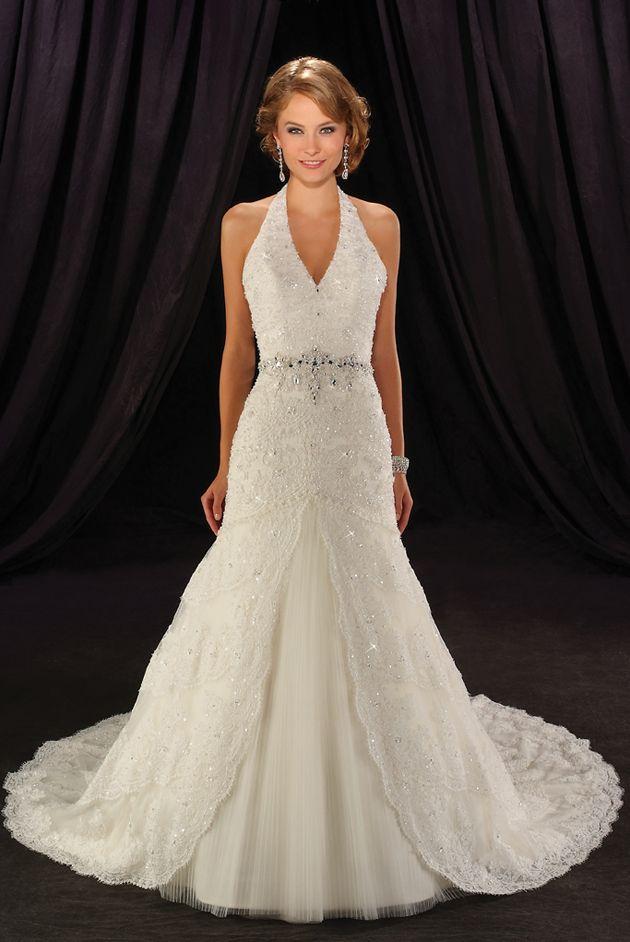 500 best Wedding Dresses images on Pinterest | Homecoming dresses ...