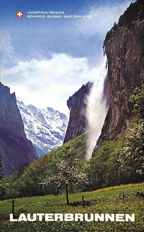 Lauterbrunnen. Jungfrau-Region. Schweiz - Suisse - Switzerland.