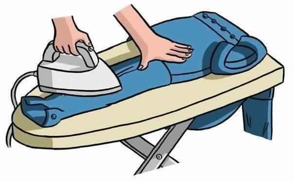 Как правильно гладить рубашку.