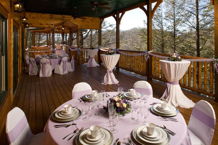 People love to get married in Gatlinburg. Here's a shot of the Gatlinburg Falls Resort wedding facility - click through to read our blog on Love & Marriage in the Smoky Mountains