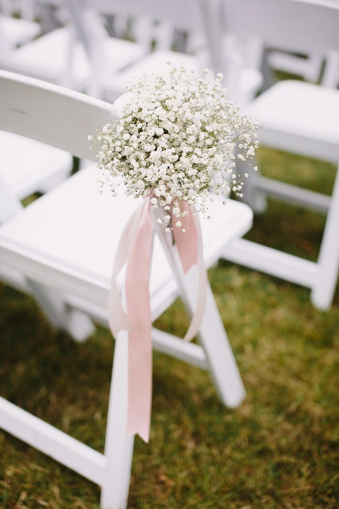 A beautiful Hayley Paige bride for a pretty white + blush June wedding in…
