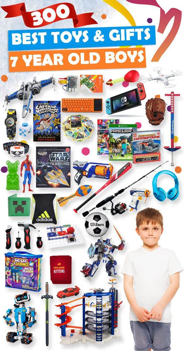 Best Toys And Gifts For 7 Year Old Boys 2019
