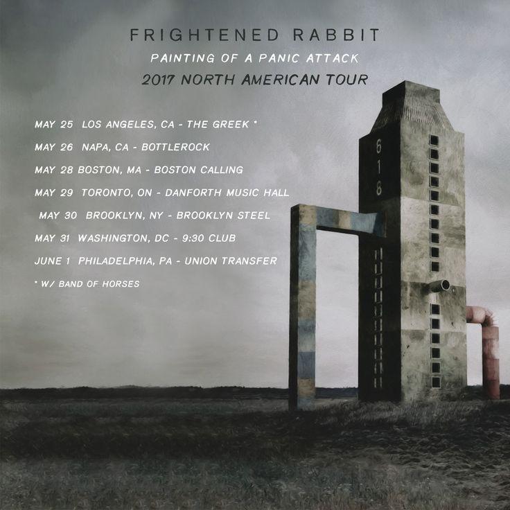 Frightened Rabbit Announces Breif North American Spring Tour   Digital Tour Bus