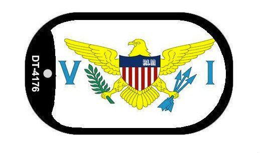 Reggae Land Muzik Store - Virgin Islands Flag : Dog Tag, $11.98 (http://www.reggaelandmuzik.com/virgin-islands-flag-dog-tag/)