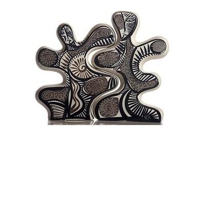 Pieza de cerámica gallega, fabricado a mano. Cerámica Regal, Premio Nacional de Artesanía, elaborada por manos artesanas con genio de artista por Otero Regal, en Viveiro, Lugo, Galicia  40 x 34 x 8 cm - Tax free $84.90