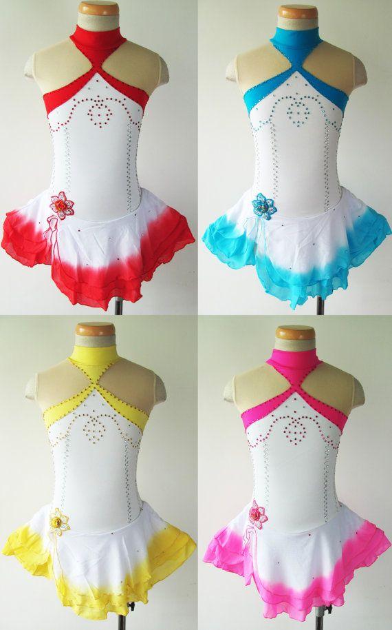 Custom Figure Skating Competition Dress  'Alice' by UnionBeautiful, $94.00
