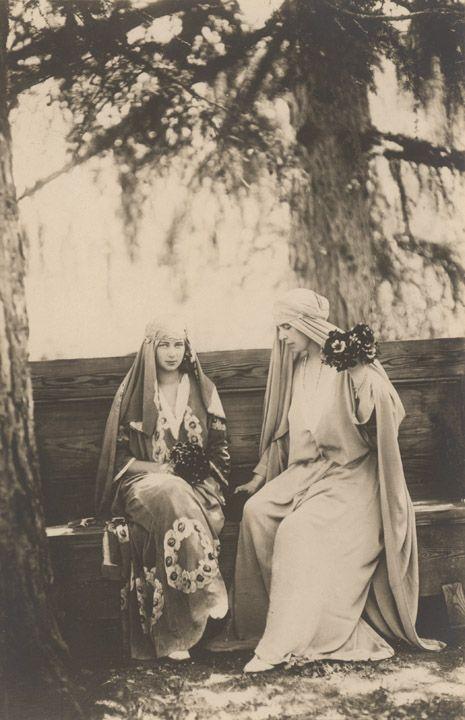 Princess Ileana of Romania Gallery / M. S. Regina Maria şi A. S. R. Principesa Ileana Postcard