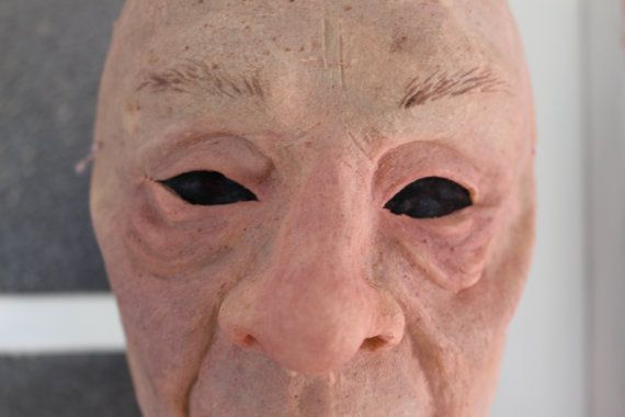Old Man/Old Woman Mask  Realistic Old Person by SometimesAliceFX