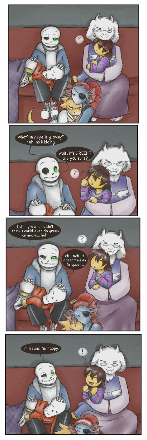 The rare and elusive happy Sans by zarla on DeviantArt