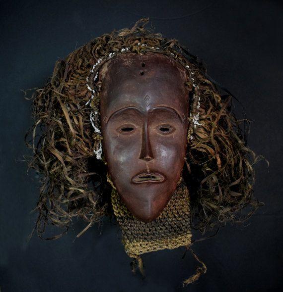 Makishi Mwana Pwevo Mask  NGANGELA  Nothwestern by haitribalart