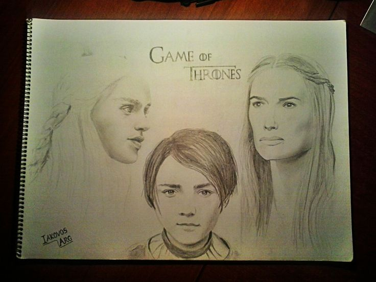 Winter is coming - Pencil Drawing