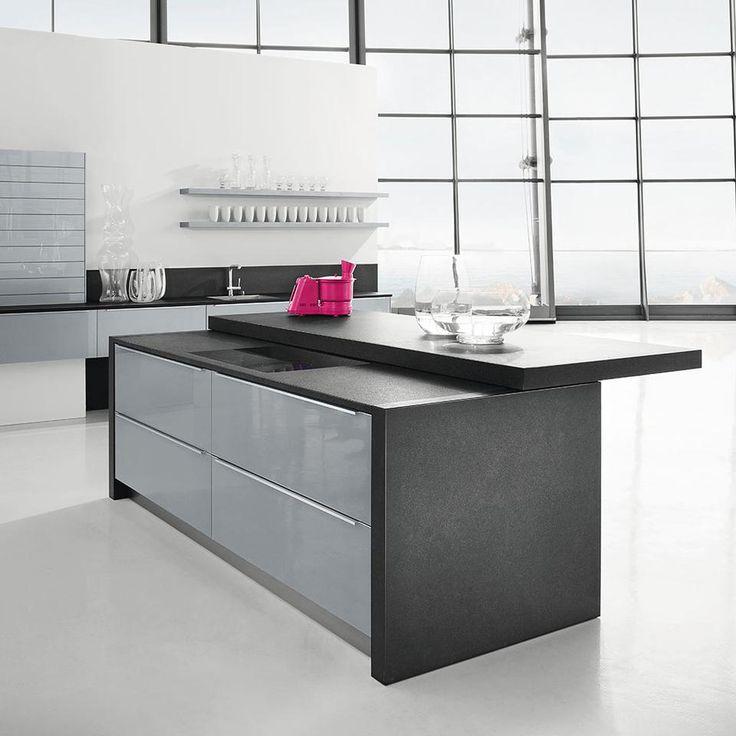 6022 silbereiche - Häcker Küchen Kitchen Pinterest - küchen mit gasherd