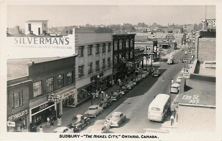 Sudbury - Elm Street C1950 - Silverman's