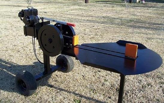 Pin on Inertia log splitter