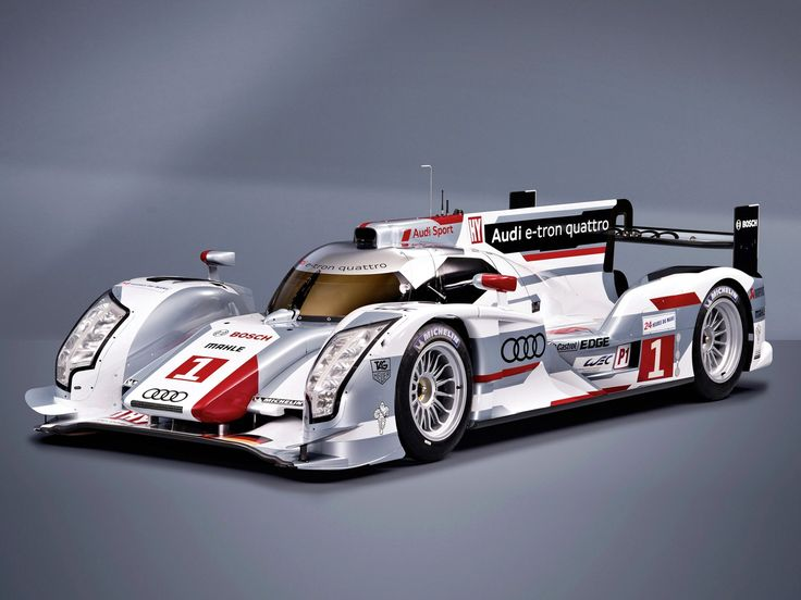 Audi R E Tron Quattro Race Car De  Gano Las  Horas De Le