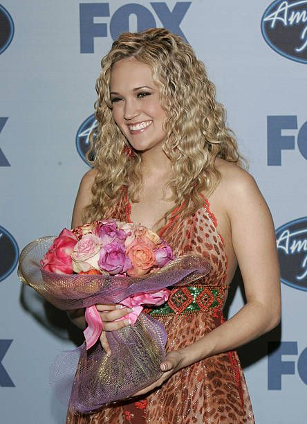 Carrie Underwood, American Idol Season Four winner.