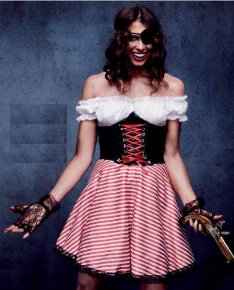 #Costume #Disfraz pirata para mujer