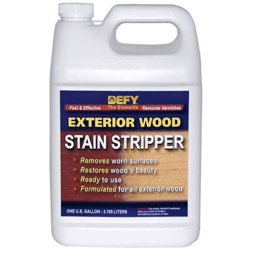 DEFY Exterior Wood Stain Stripper - Remove that terrible redwood picnic stain!