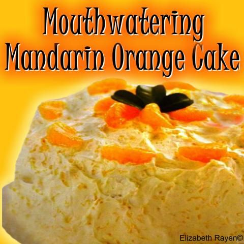 Mandarin orange cakes, Orange cakes and Mandarin oranges on Pinterest