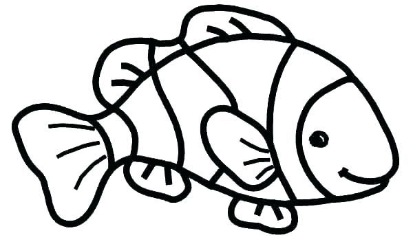 Free Printable Tropical Fish Coloring Pages Clown Fishing Sheets To Fish Coloring Page Fish Clipart Shark Coloring Pages