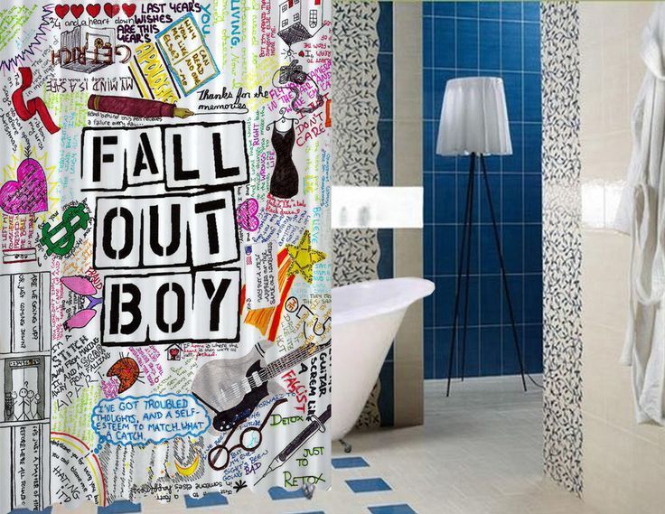 """New Best Fall Out Boy Quote Collage High Quality Custom Shower Curtain 60"""" x 72"""" #Unbranded #Modern #BestQuality #Cheap #Rare #New #Latest #Best #Seller #BestSelling #Cover #Accessories #Protector #Hot #BestSeller #2017 #Trending #Luxe #Fashion #Love #ShowerCurtain #Luxury #LimitedEdition #Bathroom #Cute #ShowerCurtain #CurtainGift"""