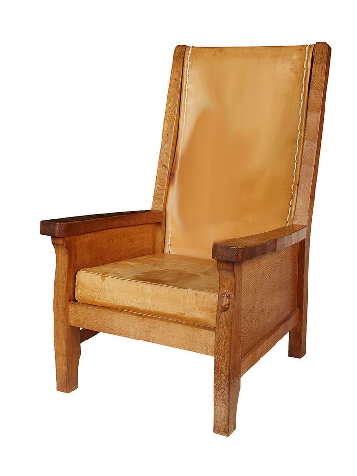 Pair Of Robert Quot Mouseman Quot Thompson Library Chairs