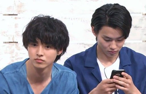 "[Press conference, 05/01/16]   Kento Yamazaki x Shuhei Nomura, J drama ""Sukinahito ga irukoto (lit. There's someone I love)"", from July/2016           [Plot] http://asianwiki.com/Sukina_Hito_ga_Iru_Koto"