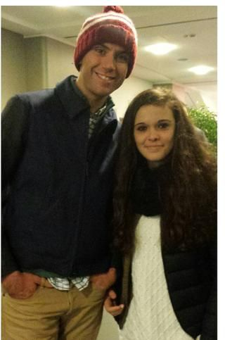 Mika meets some fans at San Siro stadium, Milan, (nov 30th, 2014)
