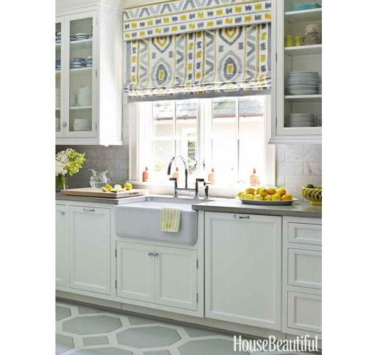 Yellow Kitchens - Ideas for Yellow Kitchen Decor - Home and Garden Design Idea's